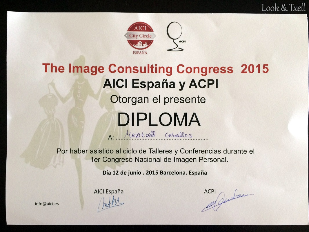 Image Consulting Congress 2015 - AICI
